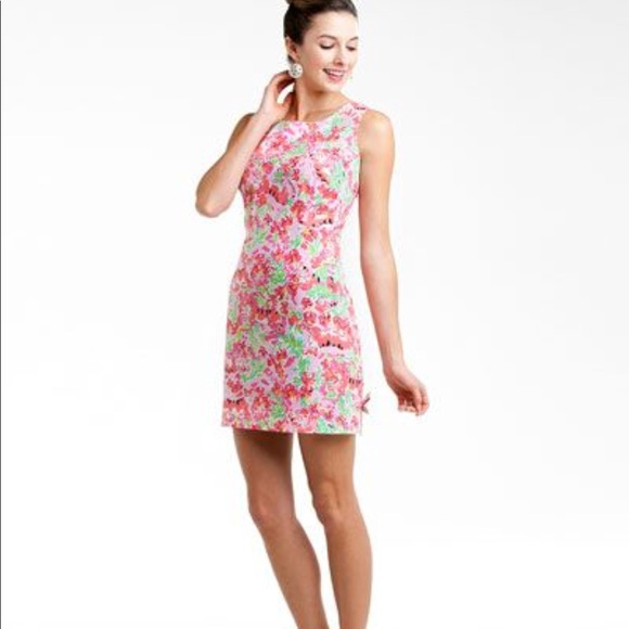 Lilly Pulitzer Dresses & Skirts - Lilly Pulitzer Call Me Kitty Cat Delia Dress